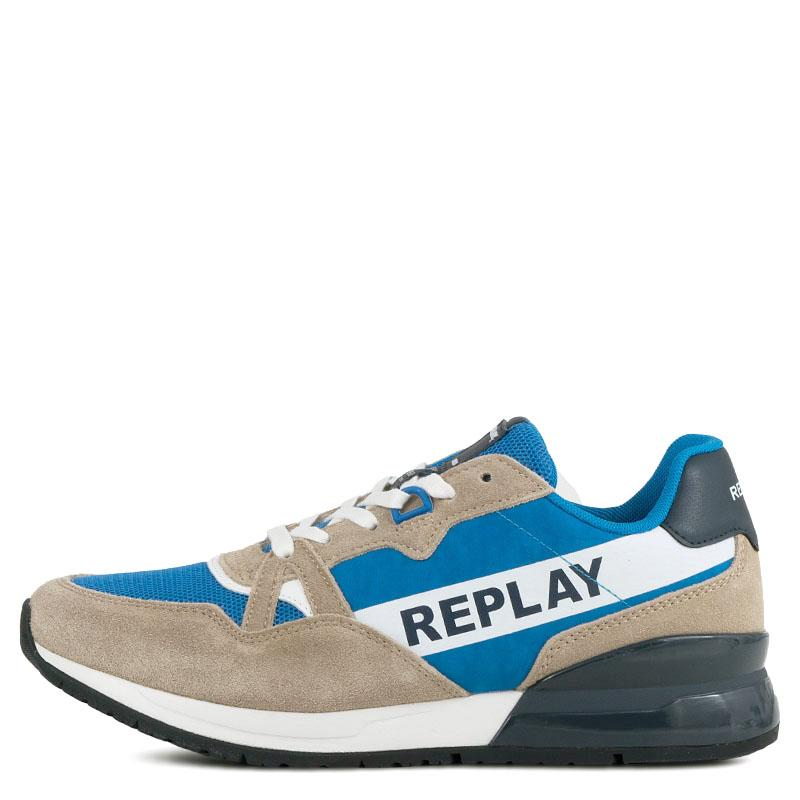 35c05d39120 Ανδρικά Sneakers Replay RS1C0002L Μπλέ | Studiotzuliani.gr