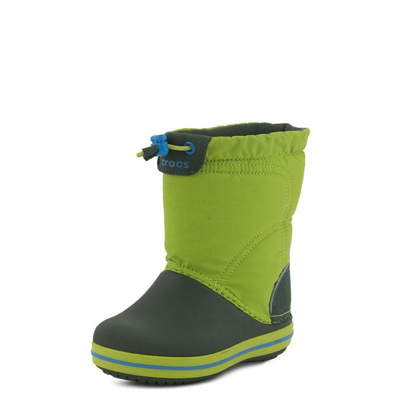 43219e6ed34 Crocband LodgePoint Boot K Crocs 203509 Πράσινο | Studiotzuliani.gr
