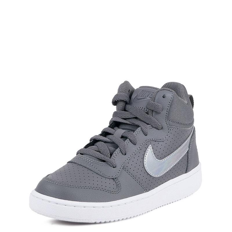 d3962a408ee Nike Court Borough Mid GS 845107-005 Γκρί | Studiotzuliani.gr