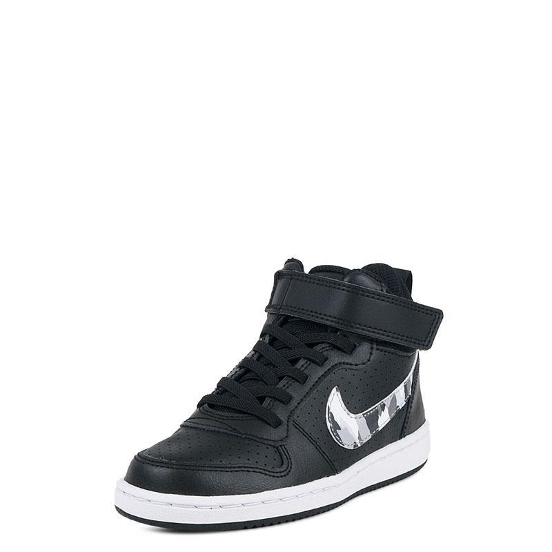 ef07aa39821 Παιδικά Αθλητικά Nike Court Borough MID PSV 870026-008 Μαύρο ...