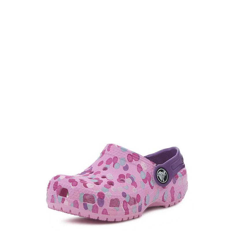 826b5ee44d5 Classic Graphic Clog Kids Crocs 204816 Ροζ | Studiotzuliani.gr