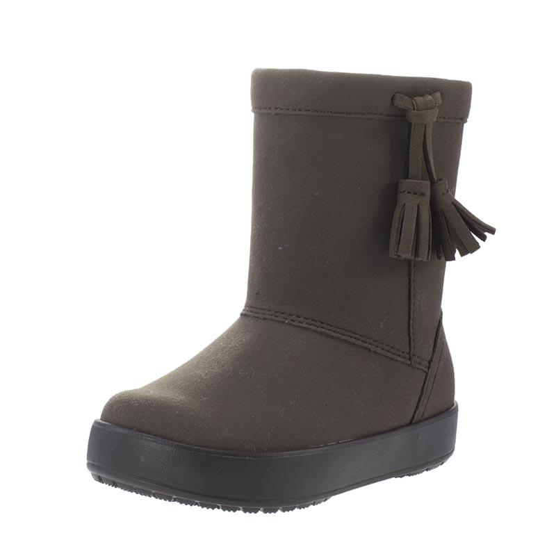Παιδικά Crocs Lodgepoint Boot 203751-206 Καφέ  cb92b968dab