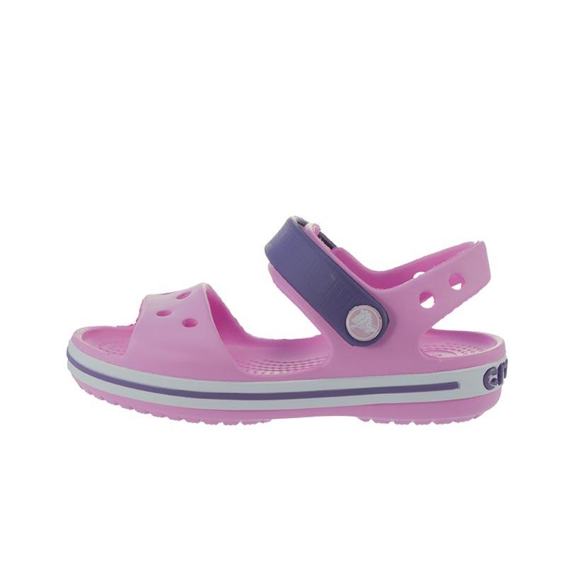 f162c51eb42 Παιδικά Πέδιλα Crocs Crocband Sandal Kids Ροζ Μωβ | Studiotzuliani.gr